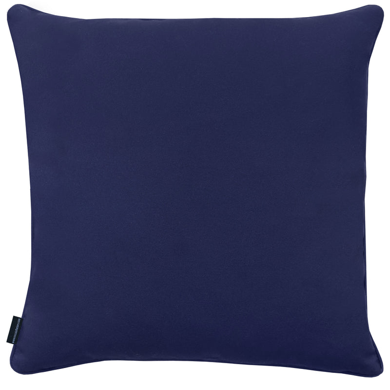 Rocco Atlantis Embroidered navy 43 x 43 cm Filled Cushion