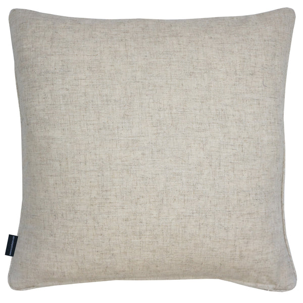 Rocco Helix Natural Matt Sequin Scroll 43 x 43cm Filled Cushion
