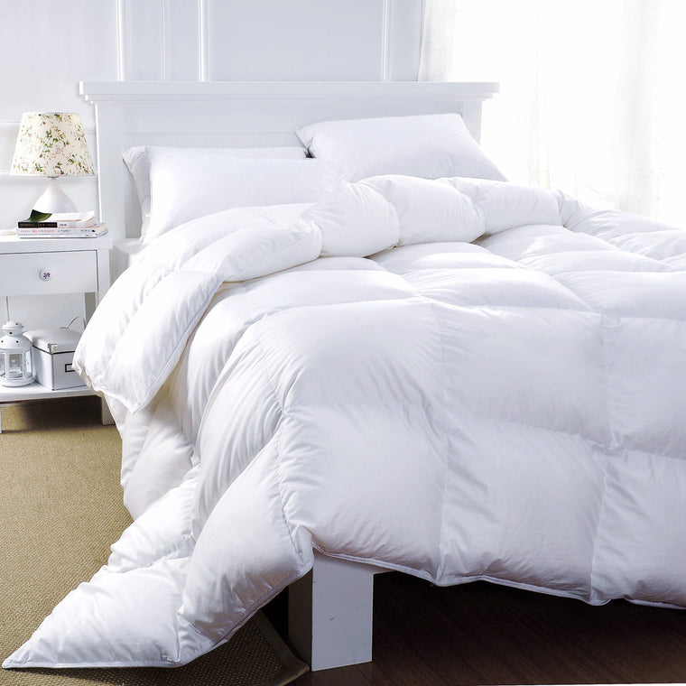Savoy White Duck Down Duvets