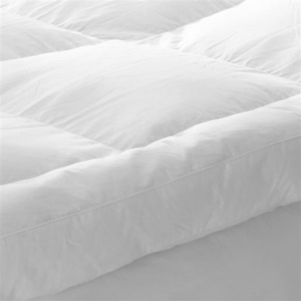 Savoy Dacron Comforel Artificial Down 7 cm Luxury Microfibre Mattress Topper