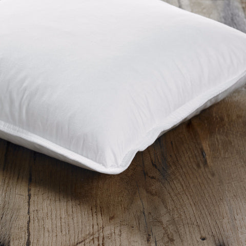 Savoy White Duck Feather & Down Medium Fill Pillow