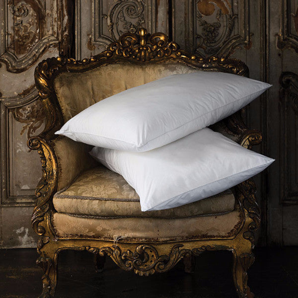 Savoy White Goose Down Medium Fill Pillow