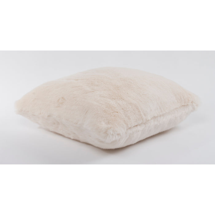 White Bear Faux Fur Throw 130 x 170 cm