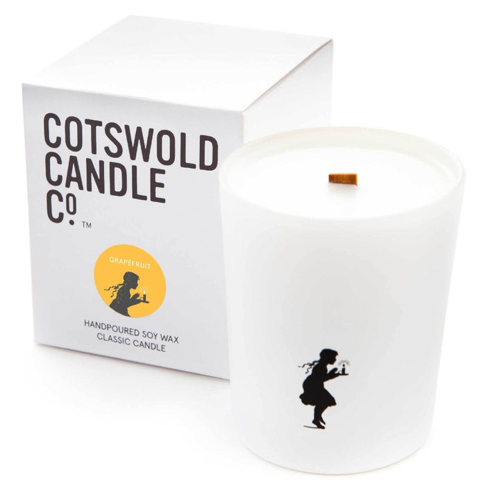 Cotswold candle Co_Classic Candle - Grapefruit 190g 35 hour