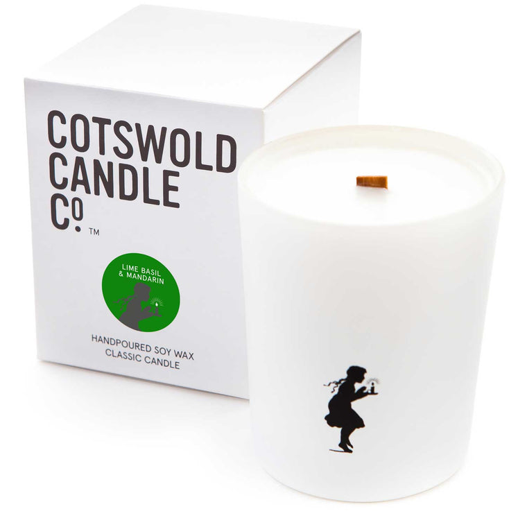 Classic Candle - Lime Basil & Mandarin 190g 35 hour