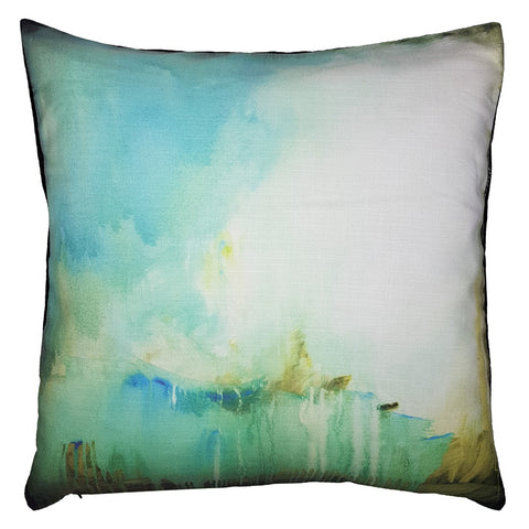 One Of A Kind Ocean Watercolour 48x48cm Cushion