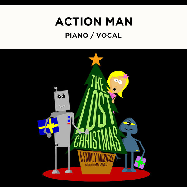 The Lost Christmas - ACTION MAN - Piano / Vocal Score