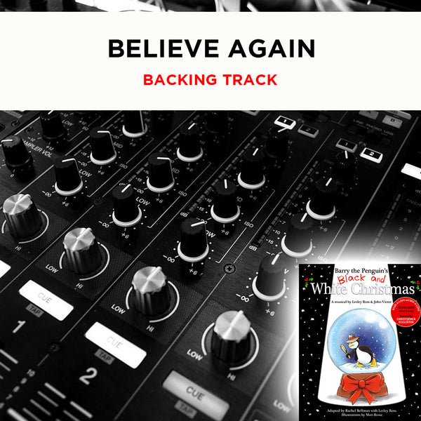 Believe Again - Backing Track