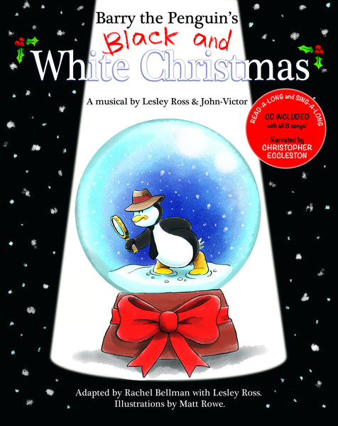 Barry The Penguin's Black and White Christmas - Book & CD