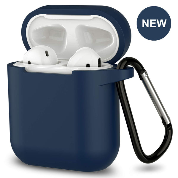 apple airpods charging case silicone cover - www.coverlabusa.com - navy