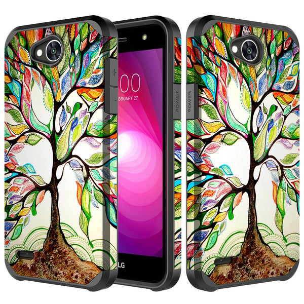 lg x power 3 hybrid case - vibrant tree - www.coverlabusa.com