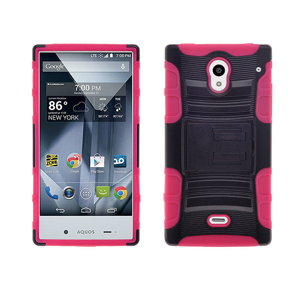 Sharp AQUOS Case - hot pink - www.coverlabusa.com