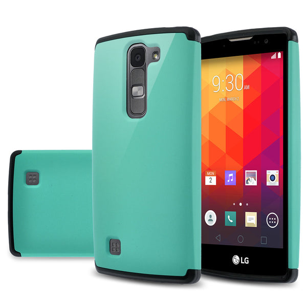 LG Volt2 Slim Hybrid Dual Layer Case - Teal/Black  - www.coverlabusa.com