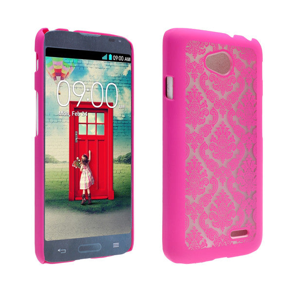 LG L70 Damask-Hot Pink- www.coverlabusa.com