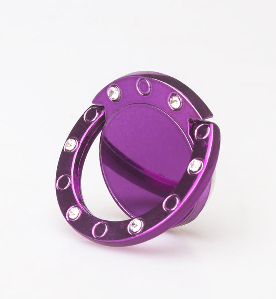 Finger Ring Grip Stand for cell phone - purple - www.coverlabusa.com