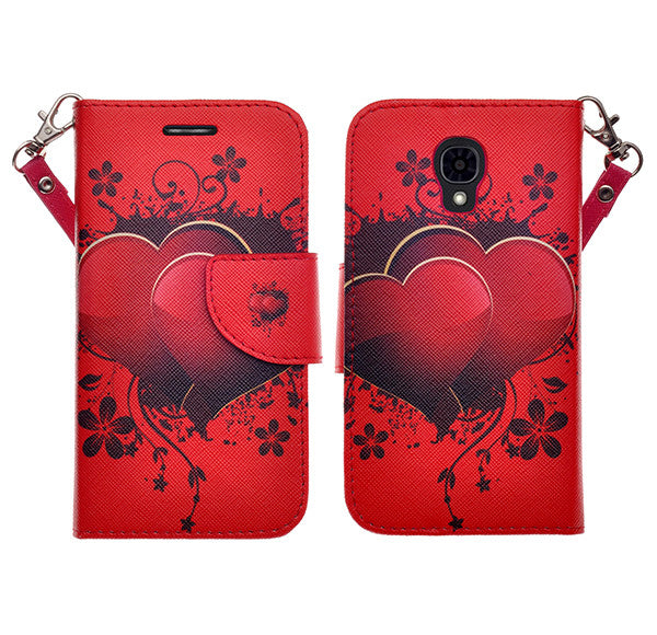 lg volt wallet case - red heart - www.coverlabusa.com
