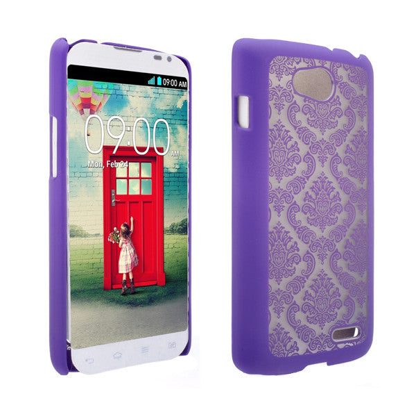 LG L90 Damask-Purple- www.coverlabusa.com