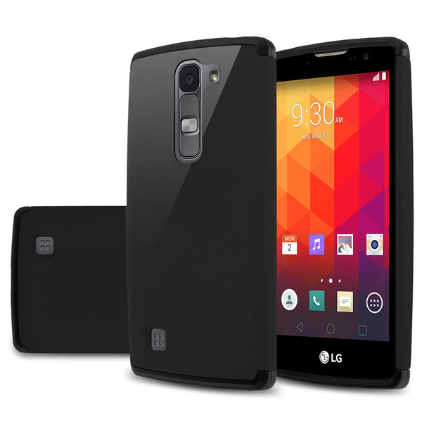 LG Volt2 Slim Hybrid Dual Layer Case - Black  - www.coverlabusa.com