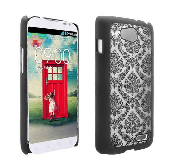 LG L90 Damask-Black- www.coverlabusa.com
