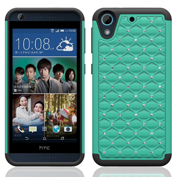 HTC Desire 626 Case Cover - Teal/Black - www.coverlabusa.com
