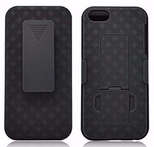 apple iphone 5S 5 SE holster case - black - www.coverlabusa.com