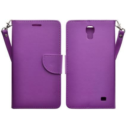 samsung galaxy mega 2 case - wallet - purple - www.coverlabusa.com