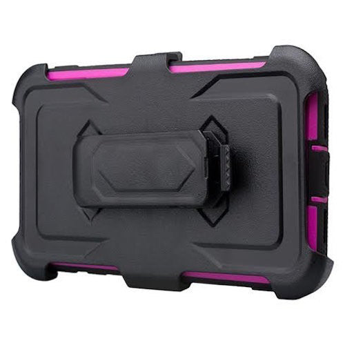 google pixel xl shockproof armor holster shell combo - purple - www.coverlabusa.com