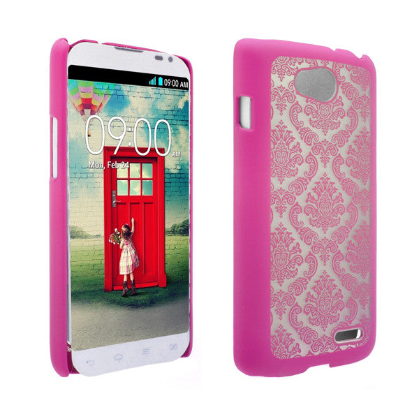 LG L90 Damask-Hot Pink- www.coverlabusa.com