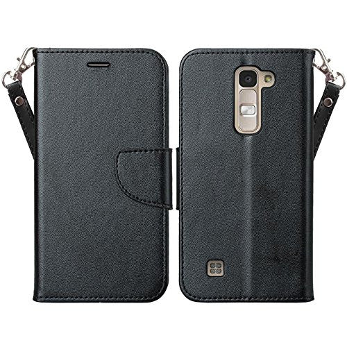 LG K7 wallet case - www.coverlabusa.com - black