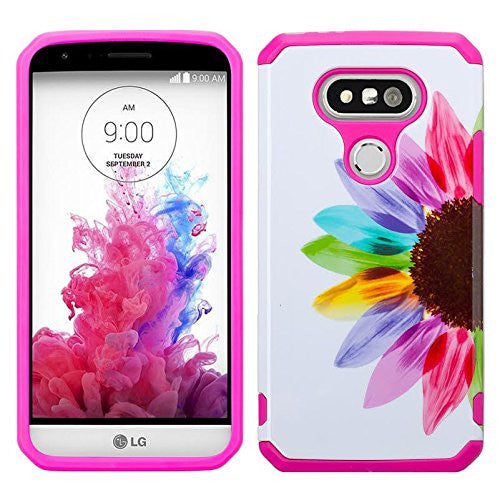 lg g5 hybrid case - sunflower - www.coverlabusa.com