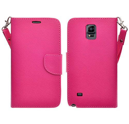 samsung galaxy note 4 wallet case - hot pink - www.coverlabusa.com