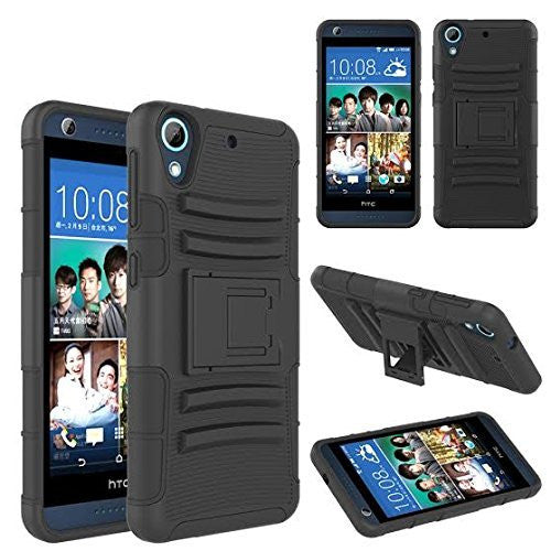 htc desire 626 holster case - black - www.coverlabusa.com