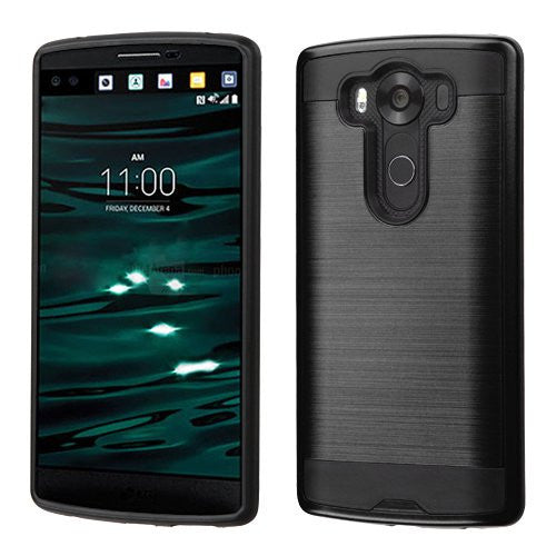LG V10 Case - Brush Black - www.coverlabusa.com