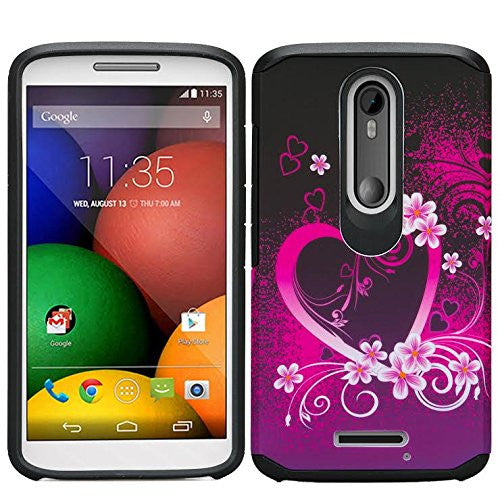 Motorola Droid Turbo 2 Case | Moto X Force Case | Kinzie Bounce Case - heart butterflies - www.coverlabusa.com