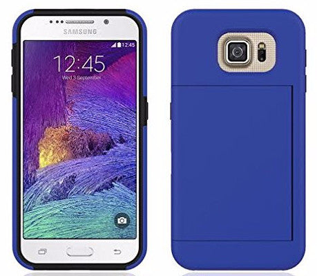 samsung galaxy s6 case hybrid with card slots - coverlabusa.com