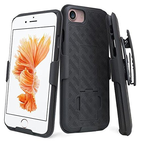 iphone 7 case, iphone 7 holster shell combo case - coverlabusa.com