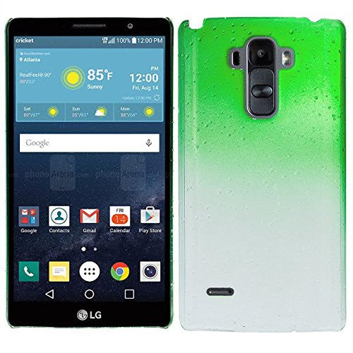 LG G Stylo Case, LG G Vista 2 Case water drop - green - www.coverlabusa.com