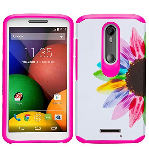 Motorola Droid Turbo 2 Case | Moto X Force Case | Kinzie Bounce Case - vivid sunflower - www.coverlabusa.com