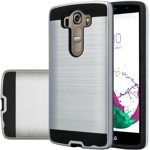 LG V10 Case - Brush Silver - www.coverlabusa.com