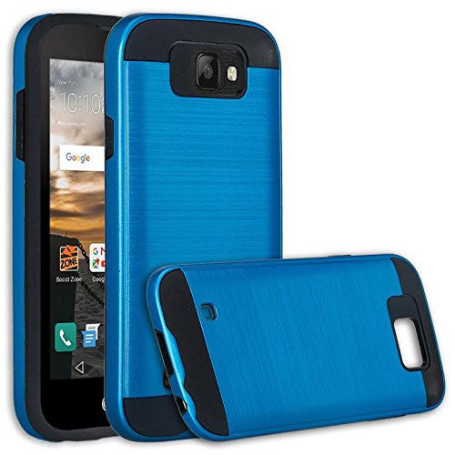 lg k3 case - brush blue - www.coverlabusa.com