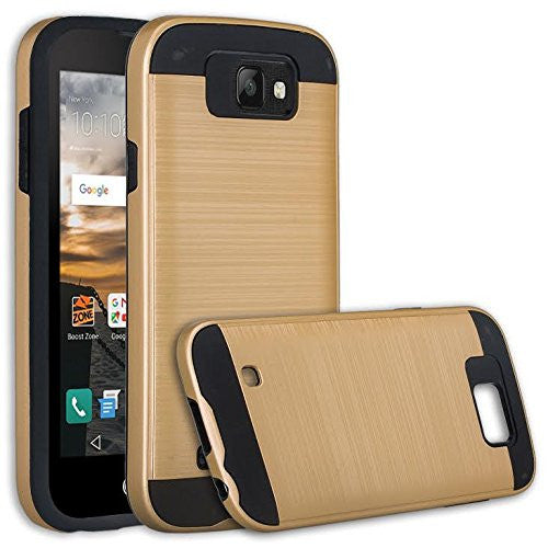 lg k3 case - brush gold - www.coverlabusa.com