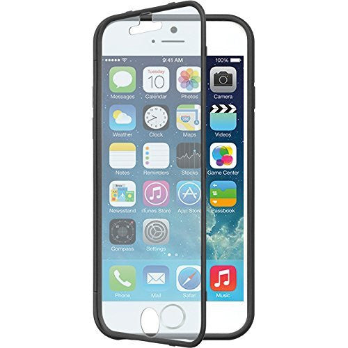 iphone 6 full body tpu case with screen protector - black - www.coverlabusa.com