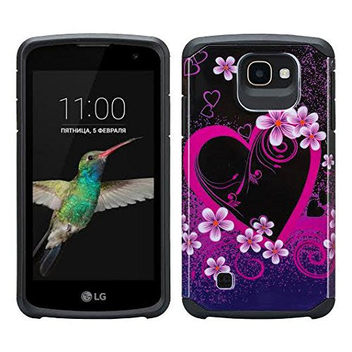 LG K3 Cases - Heart Butterflies - www.coverlabusa.com