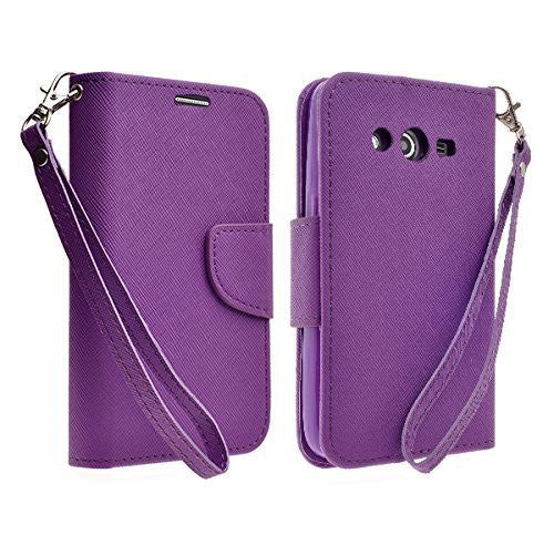 Galaxy Go Prime / Grand Prime Wallet Case, PURPLE www.coverlabusa.com