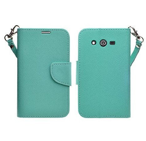 Galaxy Go Prime / Grand Prime Wallet Case, Teal www.coverlabusa.com