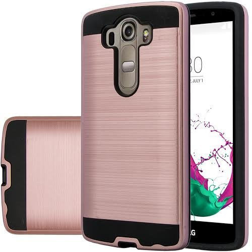 LG V10 Case - Brush Rose Gold - www.coverlabusa.com