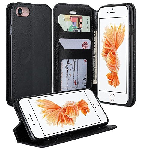 iphone 7 case, iphone 7 wallet case black - www.coverlabusa.com