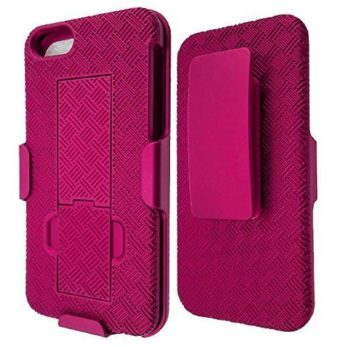 apple iphone 5S 5 SE holster case - hot pink - www.coverlabusa.com
