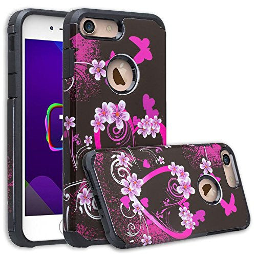 apple iphone 6S/6 Plus Case - heart butterflies - www.coverlabusa.com