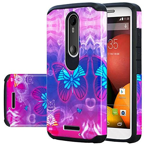Motorola Droid Turbo 2 Case | Moto X Force Case | Kinzie Bounce Case - butterfly - www.coverlabusa.com